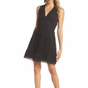 French Connection Sleeveless Black dress